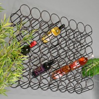 """Cellamagic"" Wall Mounted Wine Rack"