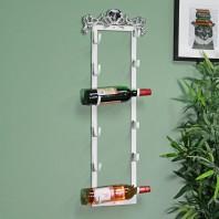 'Ashberry' Wall Mountable Heart Wine Rack