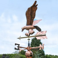 Weathervane - Polished Copper - Eagle