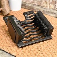 Three-in-One Boot Jack, Boot Brush & Scraper