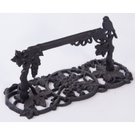 """Elmlwood Fruits"" Cast Iron Boot Scraper"