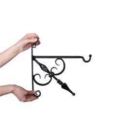 Bold Single twist Hanging Basket Bracket