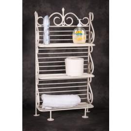 """Alnwick House"" Free Standing Vintage Bathroom Shelves"