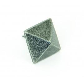 Pewter Pyramid Door Stud Large