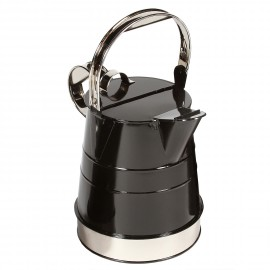 Narrowboat Watering Can to finished in Black & Chrome