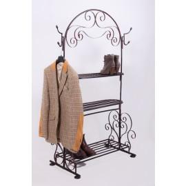 """Maylore Manor"" Three Tier Coat & Shoe Stand"