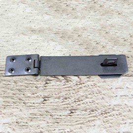 6 Inch Plain Iron Hasp & Staple