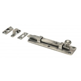 """6"""" Universal Bolt in Antique Pewter"""