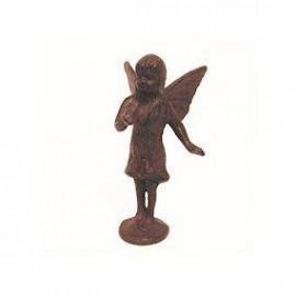 Cast Iron Standing Fairy Sculpture