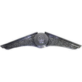 Ornate Adjustable Tie Bar Bracket (Trade Only)
