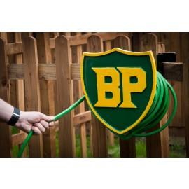 """British Petroleum"" garden hose holder"