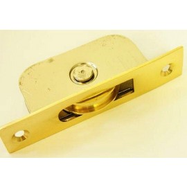 Brass face plate Sash pulley wheel