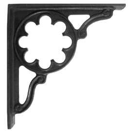 """""""Florala"""" Iron Shelf Brackets 35 x 30cm"""