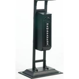 Post Box Stand - Black