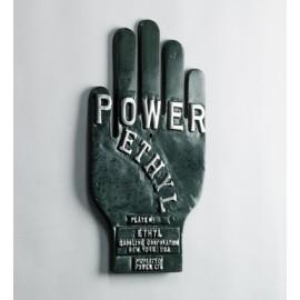 Power Ethyl enamelled Sign