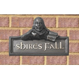 Shakespeare House Name Sign