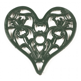 Trivet - Heavy Duty V3 Heart - Green