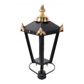 victorian custome lantern brass