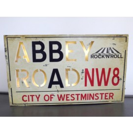 'Abbey Road' Wall Sign