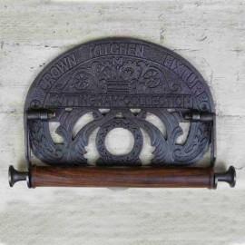 'Crown' Iron Kitchen Roll Holder