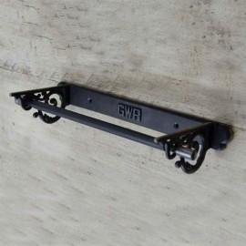 'GWR' Iron Kitchen Roll Holder