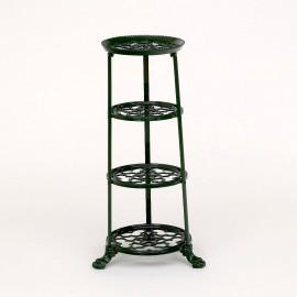 Green Cast Iron Pot and Pan Rack