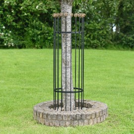 Achilles Black and Gold Heavy Duty Iron Tree Guard