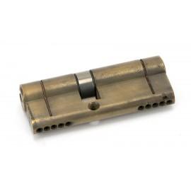 Aged Brass 5-Pin Euro Cylinder