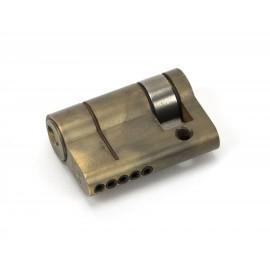 Aged Brass 5-Pin Single Cylinder