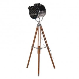 Tripod Spotlight Created Out of Aluminium with Wooden Legs
