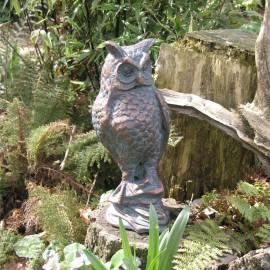 """Asio Otus"" Cast Iron Garden Ornament"