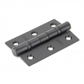 """3"""" Ball Bearing Butt Hinge Finished in Black"""