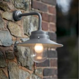 Contemporary Grey Barn Light