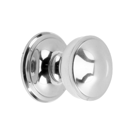 Two Tier Bright Chrome Centre Door Knob
