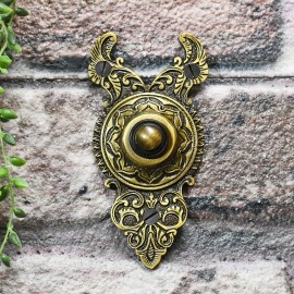 Exterior old fashioned door bell