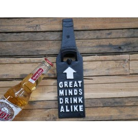 Quirky Beer-Shaped Iron Bottle Opener