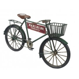 Vintage Beer Delivery Bicycle Replica Ornament