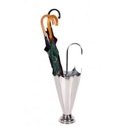 Bellambrella Umbrella & Walking Stick Stand - Bright Chrome