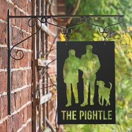 Bespoke Hanging Sign With Design