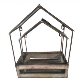 Large Wall Mounted Bird House & Table