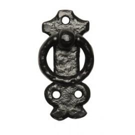 Black Cast Iron Cabinet Handle