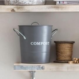 Grey 3.5L Compost Bucket