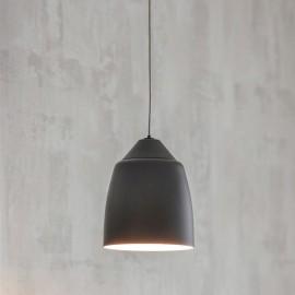 Simplistic Iron Black Hanging Light in Situ