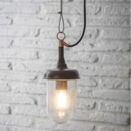 Black Outdoor Hanging Pendant Light