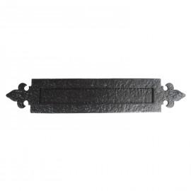 Black Iron Letter Plate