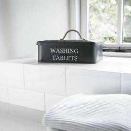 Black Washing Tablets Storage Box