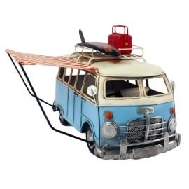 """""""Surf's Up"""" Vintage Camper Van Model"""