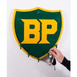"""""""Shield"""" BP Key and Coat Rack"""