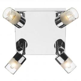Bright Chrome Adjustable Bathroom Spot Lights
