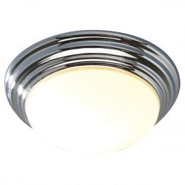 Bright Chrome Domed Bathroom Light